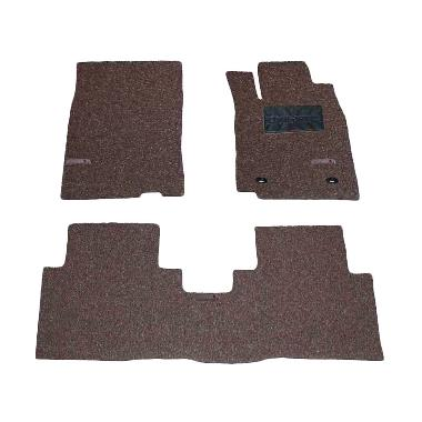 Comfort Carpet Brown Karpet Mobil untuk Honda All New Altis