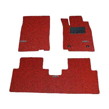 Comfort Carpet Red Black Karpet Mobil untuk Honda All New Altis