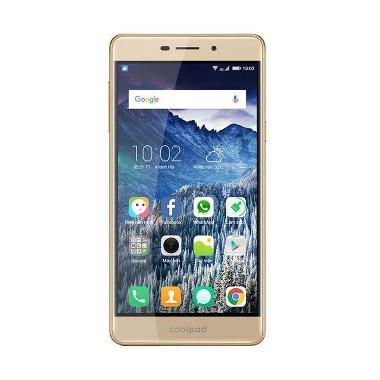 Coolpad E205 Sky 3 Smartphone - Gold [16 GB]