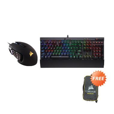 Corsair K70 Cherry MX Speed RGB RAP ...  Mouse - Black + Free Bag