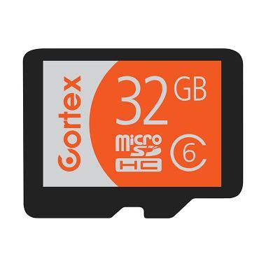 Cortex Micro SDHC Class 6 Memory Card [32 GB] + Adapter