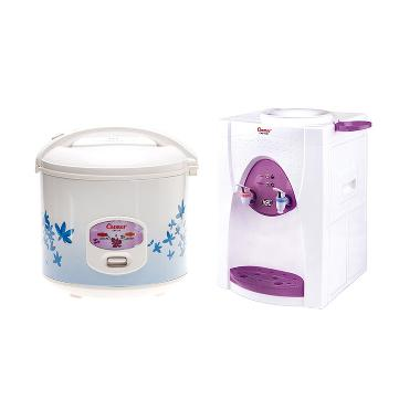 Cosmos Paket CRJ323 Rice Cooker And CWD-1138P Water Dispenser