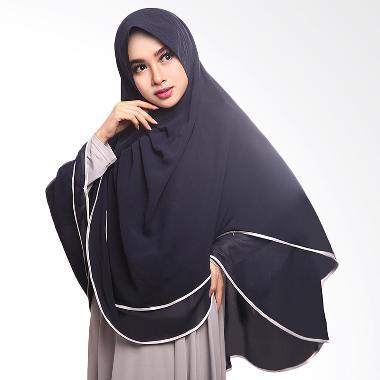Cotton Bee Khimar Aliqa Hijab Dongker