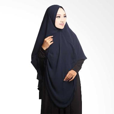 Cotton Bee Khimar Draperry Hijab syar'i - Dongker