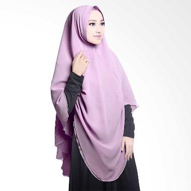 Cotton Bee Khimar Draperry Hijab syar'i - Lavender