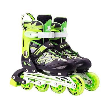 Cougar MZS835L Sepatu Roda Inline Skate - Black Green