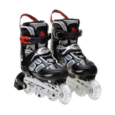 Cougar MZS835LSG ADJ.Inline Skate W/ABEC7 - Black/White [34-37]
