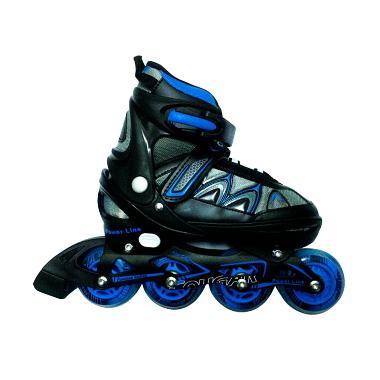 Cougar MZS851 Sepatu Roda Inline Skate - Blue Black [Size S]