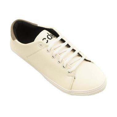 Coup d' Etat Clean Cut '89 Sneakers ... tu Wanita - Putih Abu-abu