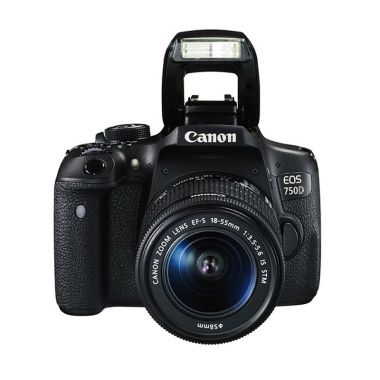 Canon EOS 750D Kit EF-S 18-55mm f/3 ... a DSLR Citra Photo Lovers
