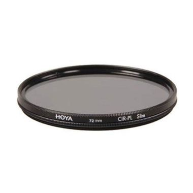 Hoya CIR-PL Digital Slim 72mm Hitam Filter Lensa