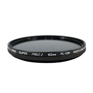 Hoya Super Pro1 PL-CIR 62mm Hitam Filter Lensa