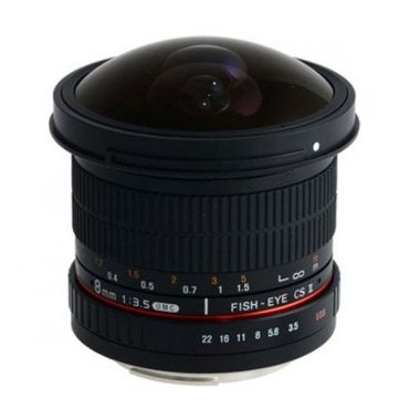 Samyang for Canon 8mm F/3.5 CS II A ...