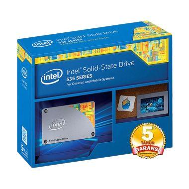 Jual Intel 535 Series 240 GB SSDSC2BW240H6R5 SSD Hard Disk Internal [2.5 IN SATA 6 GB SSD/S Read/Write 540/490 MB/s 20 nm] Harga Rp Segera Hadir. Beli Sekarang dan Dapatkan Diskonnya.