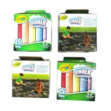Crayola Paket Kapur Mainan Anak [4  ...