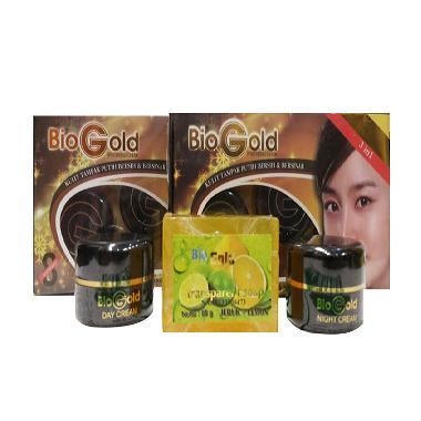 Cream Bio Gold Cream Pelembab Wajah