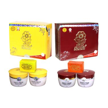 Cream Sari Original New Pack Oily Pelembab Wajah