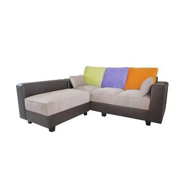 Creova Sofa L Style Pandora Bantal Warna Warni
