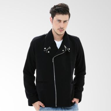 Crows Denim SK08 Black Jaket Pria   ...