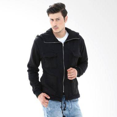 Crows Denim SK21 Black Jaket Pria   ...