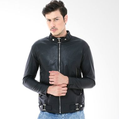 Crows Denim SK62 Black Jaket Pria   ...