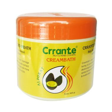 DISKON..!!! Crrante Creambath Alpukat Perawatan Rambut Terpopuler