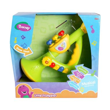 Hit Entertainment Limited Barney Little Trumpeter Multicolor Mainan Anak
