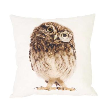 Curated Home CUSHION COVER WITH INSERT - LITTLE OWL (45cm x 45cm)