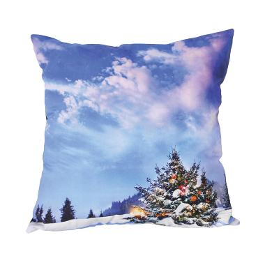 Curated Home CUSHION COVER WITH INS ... UNTAIN SNOW (45cm x 45cm)