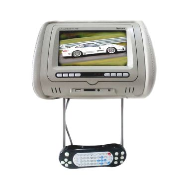 Rodek TFT LCD RDU-7008D Grey Headrest Multimedia Monitor [7 Inch]