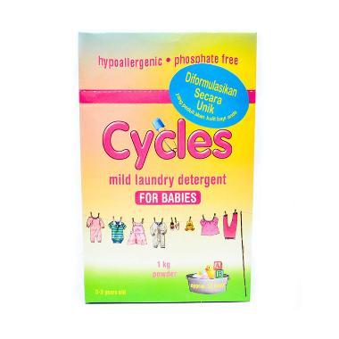 Cycles Mild Laundry Detergent Powder [1 kg]