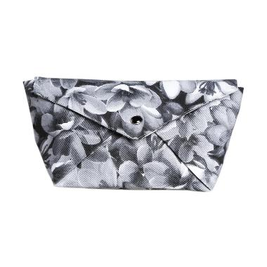 Cynara Studio Canvas Boat Pouch DB B/W Dompet - Black White