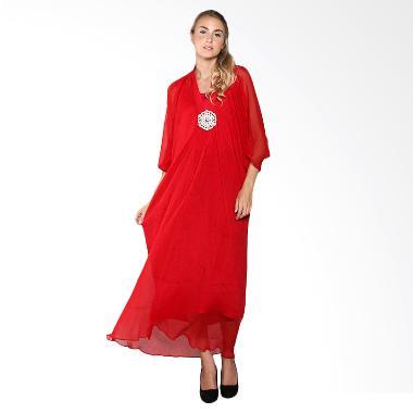 Cynara Studio GBR101 Gamis - Bright Red