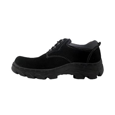 Cut Engineer Safety Luxury Hitam Low Boots
