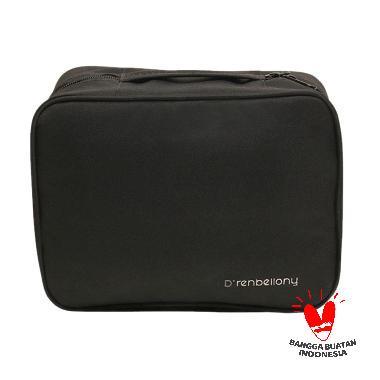 harga D'renbellony Cosmetic Bag Organizer - Black | Tas kosmetik | Tempat kosmetik Blibli.com