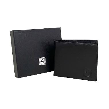 David Jones Leather Wallet m38-918 Black Dompet Pria