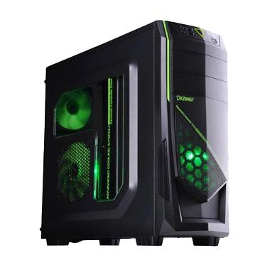 Dazumba D-Vito 685 Casing For Gaming Computer With Dazumba PS-450W Power Supply