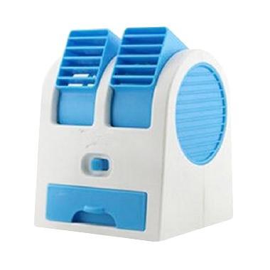 Dcera Double Blower AC Mini Fan Portable