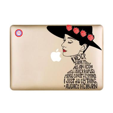 Decal Audrey Rose Sticker for Macbook