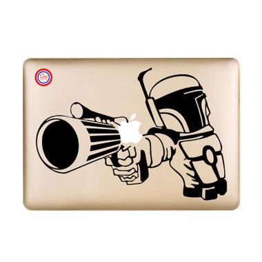 Decal Boba Fett Sticker for Macbook