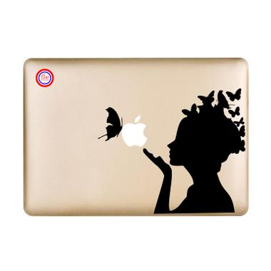 Decal Butterfly Girl Sticker for Macbook