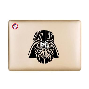Decal Dart Vader Head Sticker for Macbook