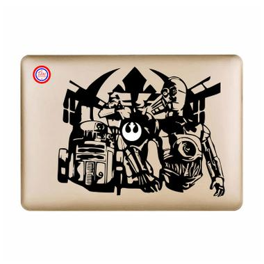 Decal Star Wars C-3PO Sticker for Macbook