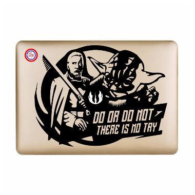 Decal Stars Wars Yoda Sticker for Macbook