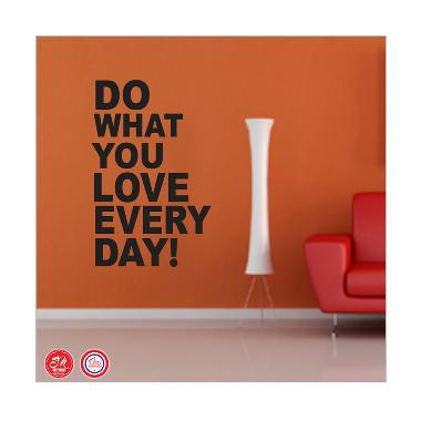 Wall Decal sticker Do What You Love Wall Sticker