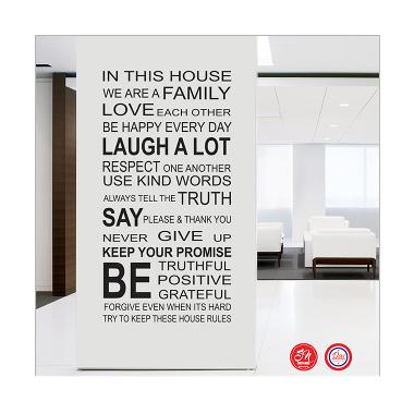 Decal In the House Wall Sticker