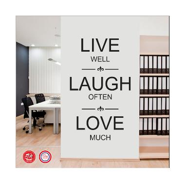 Wall Decal Sticker Live Laugh Love Wall Sticker