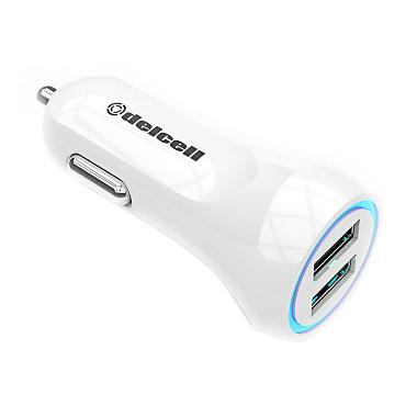 Delcell Dual USB Car Charger