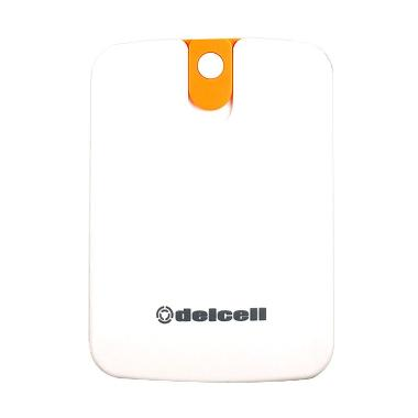Jual Promo App - Delcell Four Putih Kuning Powerbank [8000 mAh] Harga Rp 135000. Beli Sekarang dan Dapatkan Diskonnya.