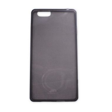 Delcell Jzzs Crystal TPU Soft Case Ultra Thin 0.5mm for OPPO R829T - Hitam  Transparan ab836a7988